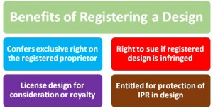 benefits of registering a design