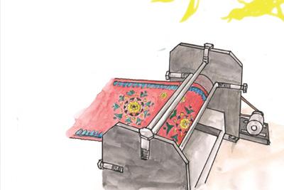 Namda rolling machine
