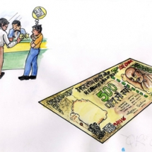 Secured currency notes