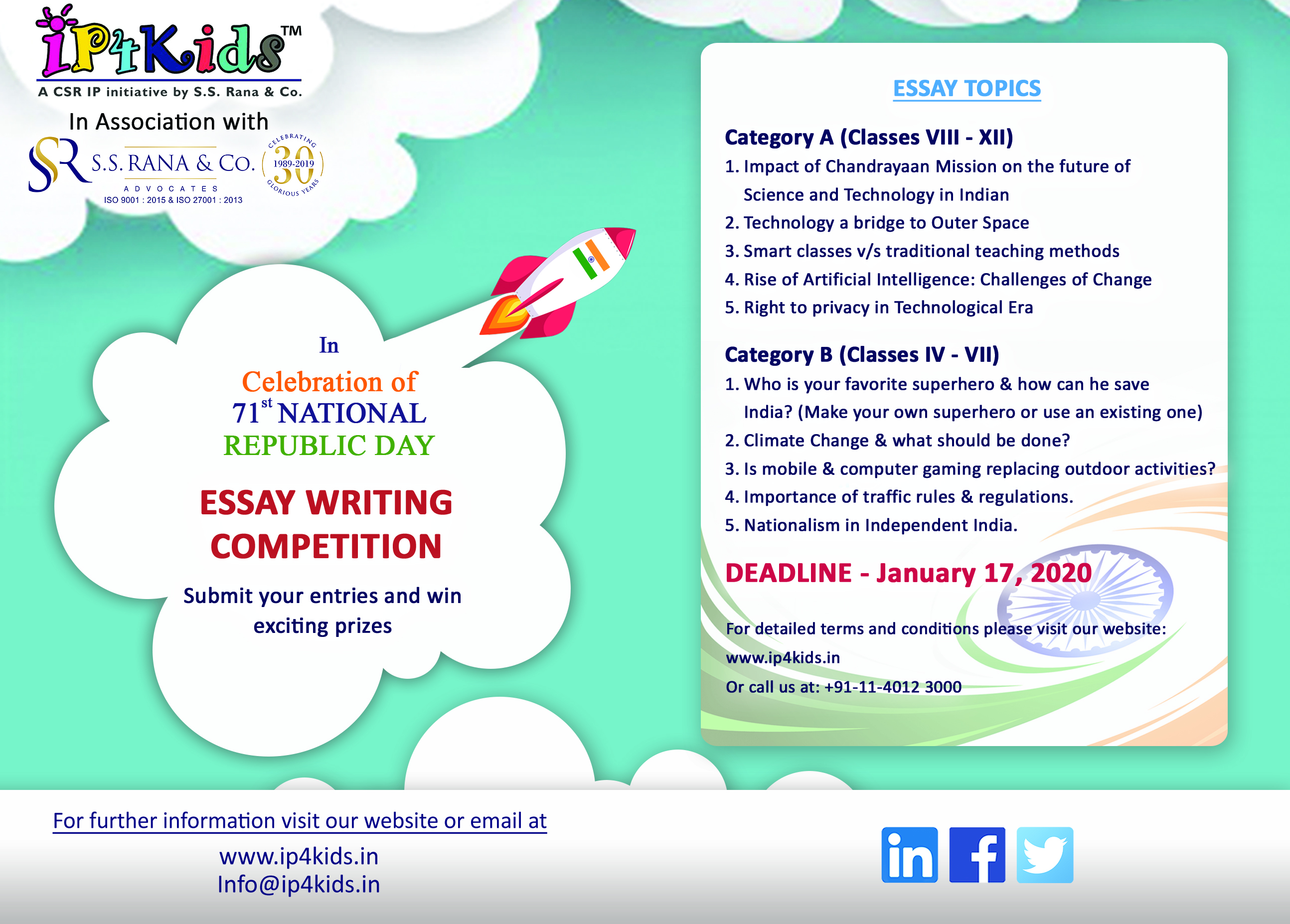 Rules in essay writing contest use edirectory default resume